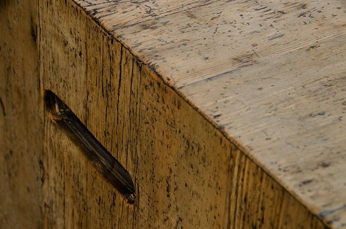 JIM, Couchtisch Altholz mit Schublade Alle Tische Couchtische