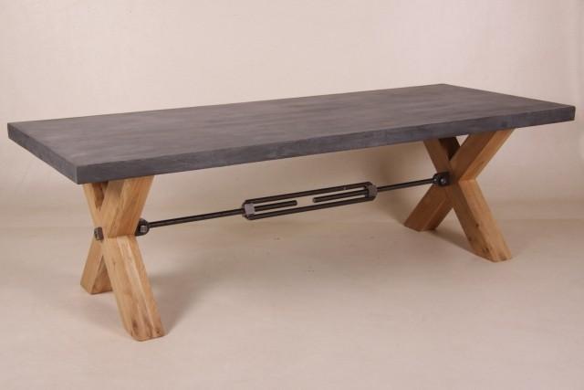 nelly esstisch beton holz industriedesign m bel esstische. Black Bedroom Furniture Sets. Home Design Ideas