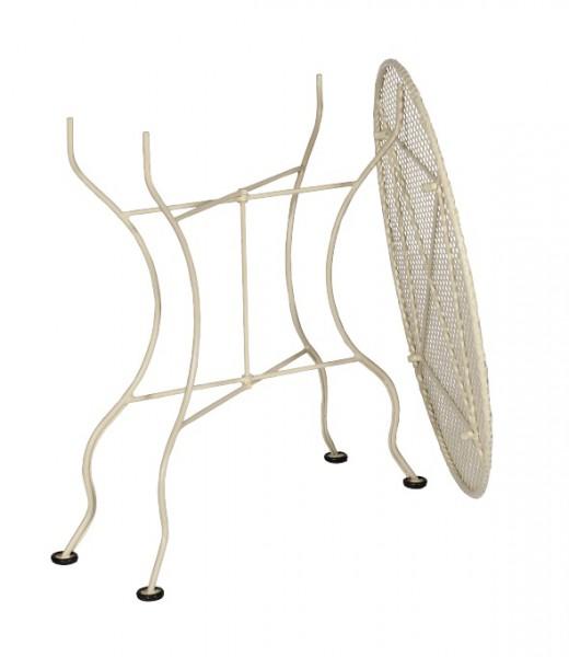 loui gartentisch metall rund nostalgisch sale sale garten. Black Bedroom Furniture Sets. Home Design Ideas