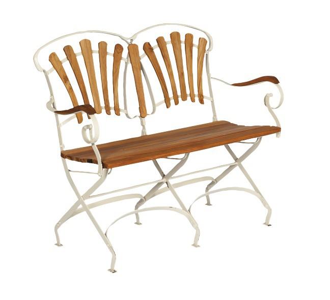 nostalgische gartenbank holz. Black Bedroom Furniture Sets. Home Design Ideas