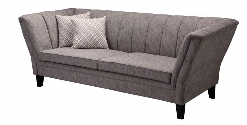 pit stoff sofa grau landhausstil polsterm bel sofa. Black Bedroom Furniture Sets. Home Design Ideas