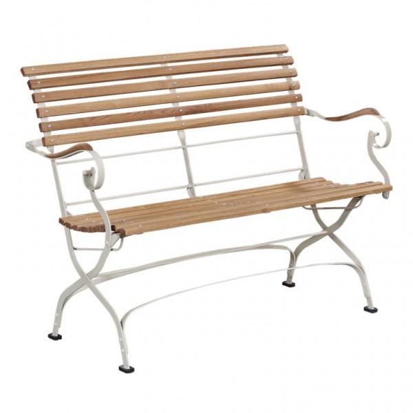 gartenbank rund metall 134736 eine. Black Bedroom Furniture Sets. Home Design Ideas