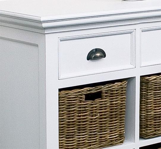 stine sideboard mit k rben landhausm bel kommoden. Black Bedroom Furniture Sets. Home Design Ideas