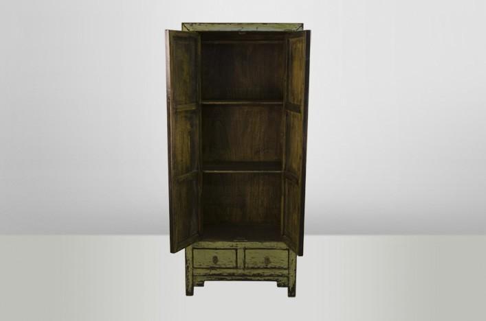 linda schrank gr n vintage 2t rig alle schr nke schr nke. Black Bedroom Furniture Sets. Home Design Ideas
