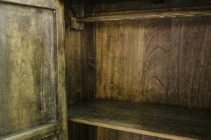 vintage schrank gr n interessante ideen f r die gestaltung eines raumes in ihrem. Black Bedroom Furniture Sets. Home Design Ideas