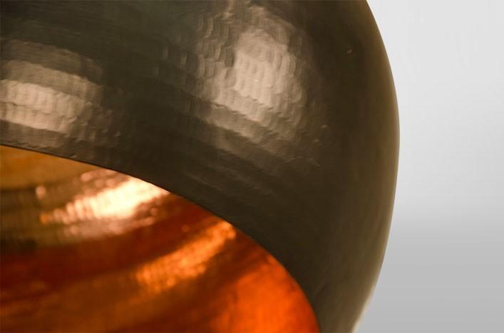 Kupfer Esstisch Lampe ~ COCO, Deckenlampe Metall Kupfer Lampen Deckenlampe