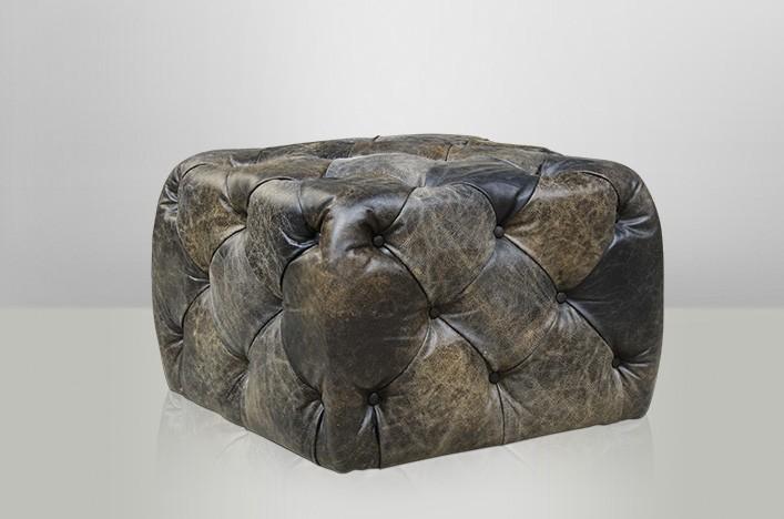 kent leder hocker schwarz lederm bel hocker. Black Bedroom Furniture Sets. Home Design Ideas