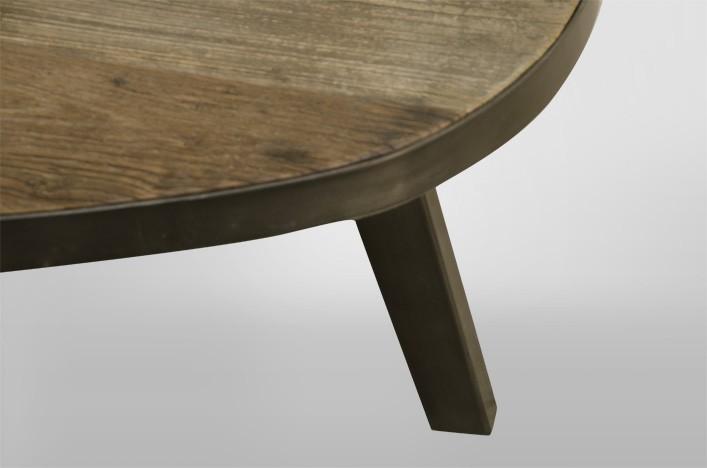 Roy, Couchtisch oval Industriedesign Alle Tische Couchtische
