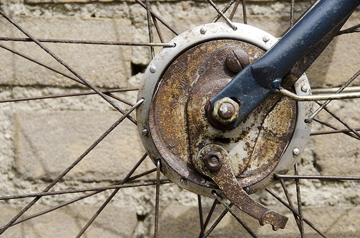 Bike dekoration industriedesign wohnaccessoires - Dekoration fahrrad ...