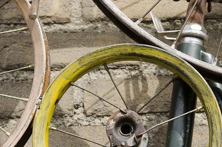 Bike dekoration bike industrie design wohnaccessoires - Dekoration fahrrad ...