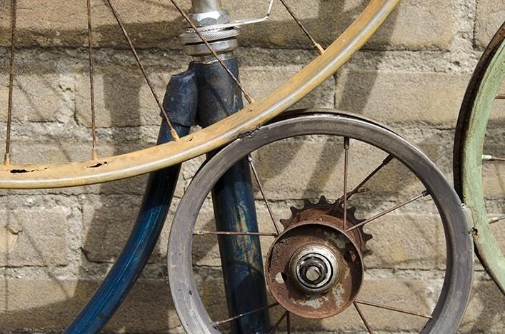 bike dekoration bike industrie design wohnaccessoires. Black Bedroom Furniture Sets. Home Design Ideas