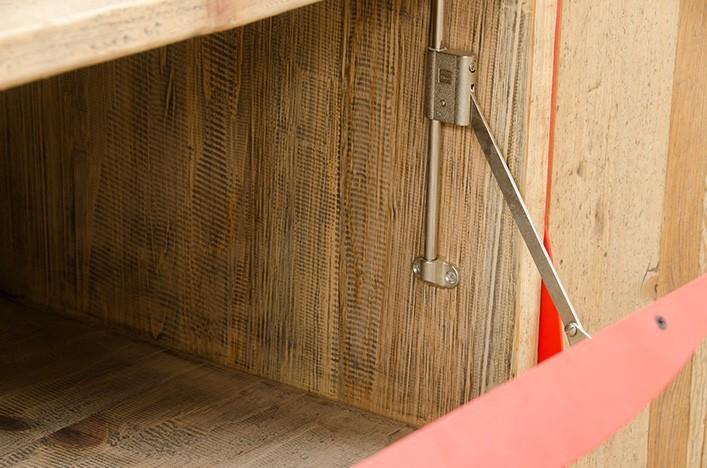jim sideboard holz metall sale. Black Bedroom Furniture Sets. Home Design Ideas