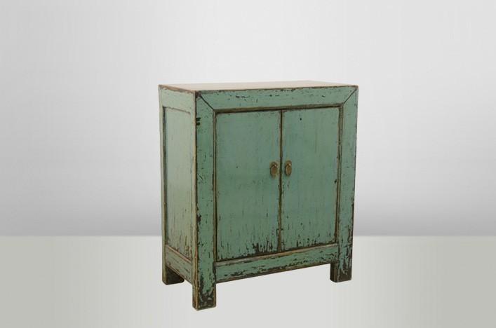 linda kommode blau vintage altholzm bel kommoden. Black Bedroom Furniture Sets. Home Design Ideas
