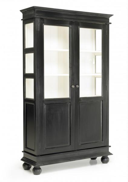 nina vitrinenschrank schwarz alle schr nke schr nke. Black Bedroom Furniture Sets. Home Design Ideas