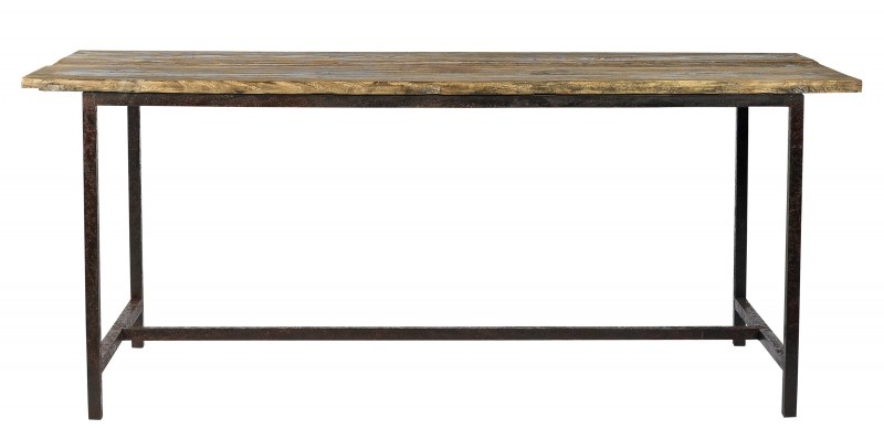 jenny esstisch holz metall industriedesign alle tische. Black Bedroom Furniture Sets. Home Design Ideas