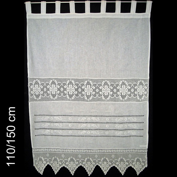 sonja leinen seitenschal wei 2er set textil gardinen. Black Bedroom Furniture Sets. Home Design Ideas