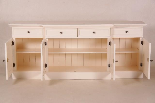 ria sideboard wei landhaus alle schr nke kommoden. Black Bedroom Furniture Sets. Home Design Ideas