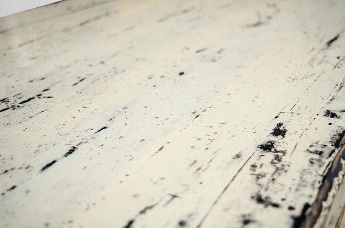 BELLA, Couchtisch weiß shabby Hochglanz Alle Tische Couchtische
