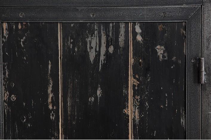pook 428 regal industriedesign holz metall. Black Bedroom Furniture Sets. Home Design Ideas