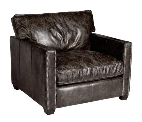william ledersessel braun lederm bel sessel. Black Bedroom Furniture Sets. Home Design Ideas