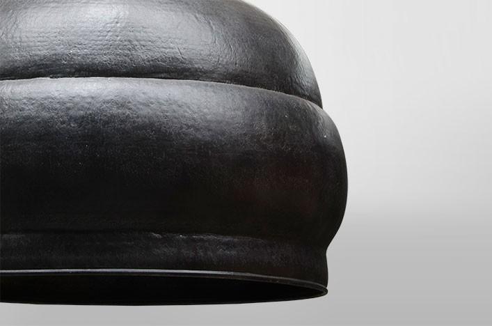 Jonnie metall deckenlampe schwarz vintage lampen deckenlampe for Deckenlampe lang