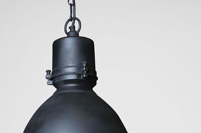 Dipper deckenlampe schwarz metall lampen deckenlampe for Küchenlampe